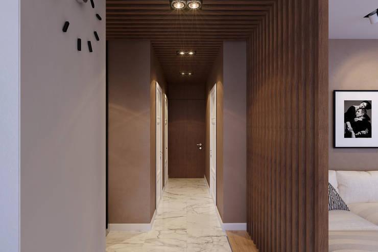Квартира на Богатырском: Коридор и прихожая в . Автор – Geometrium