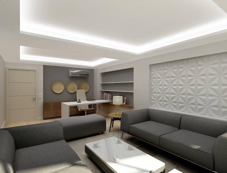 Lab::istanbul – Haşema Ofis Yönetici Odası: modern tarz , Modern