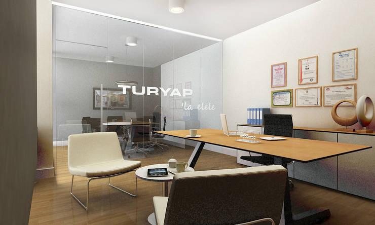 Lab::istanbul – Turyap Bayii Konsept Tasarımı:  tarz Ofis Alanları & Mağazalar