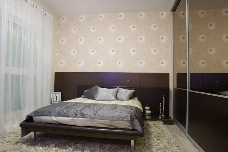 Projeto arquitetônico do apartamento decorado do Porto Atlantico.: Quartos  por ArchDesign STUDIO