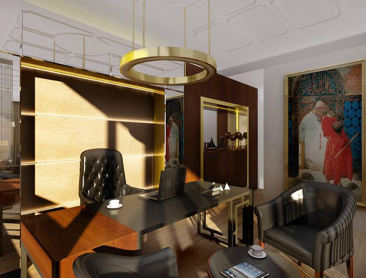 Lab::istanbul – 16/9 Ofis-Konsept Proje:  tarz İç Dekorasyon