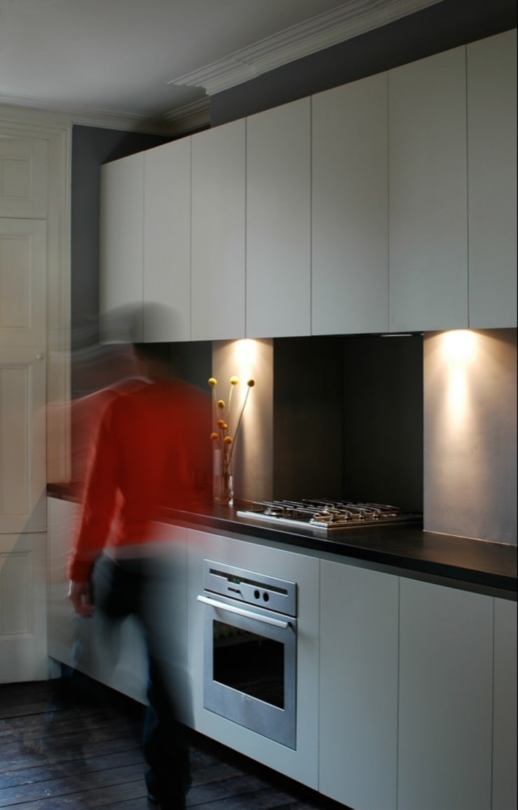 Kitchen:  Kitchen by Peter Bell Architects