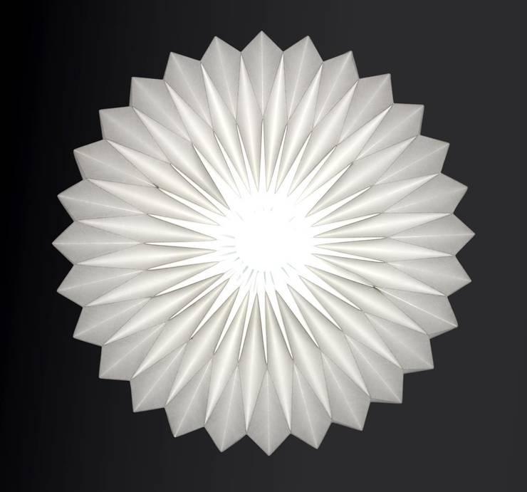 Lampenschirm *Glocke* :  Wohnzimmer von Nachtfalter