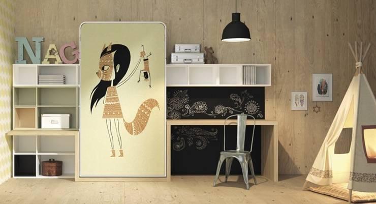 Dormitorios de estilo  por Yupih