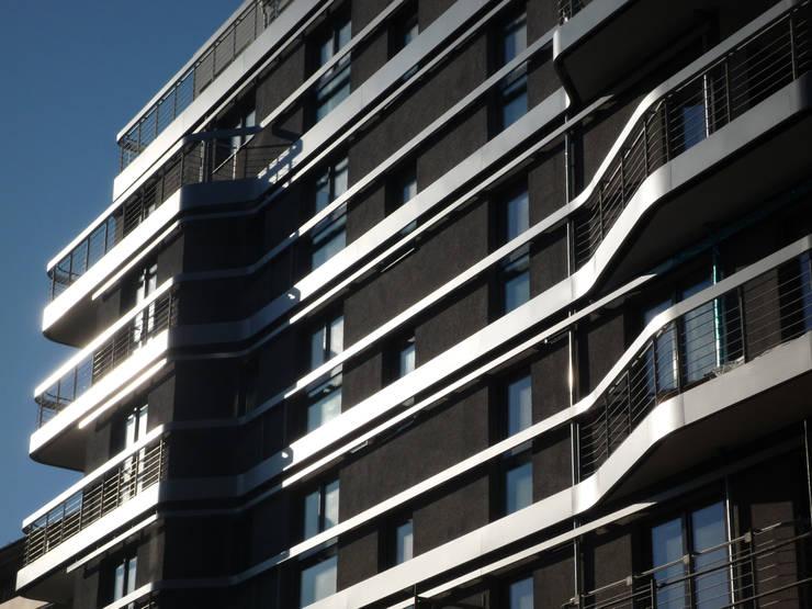 Fassade:  Häuser von Faber+Faber Architekten