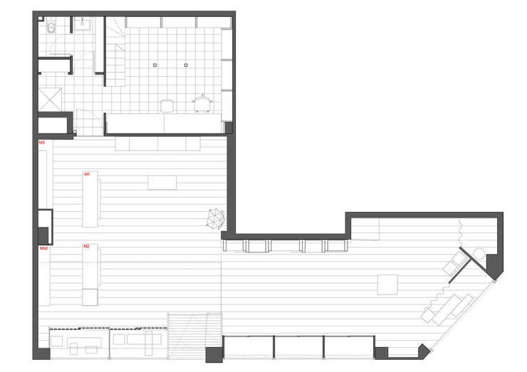 Planta de distribución:  de estilo  de interior03
