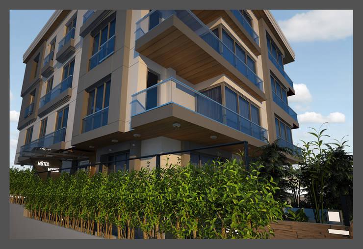 CANSEL BOZKURT  interior architect – MÜTOL HAUSE:  tarz Evler