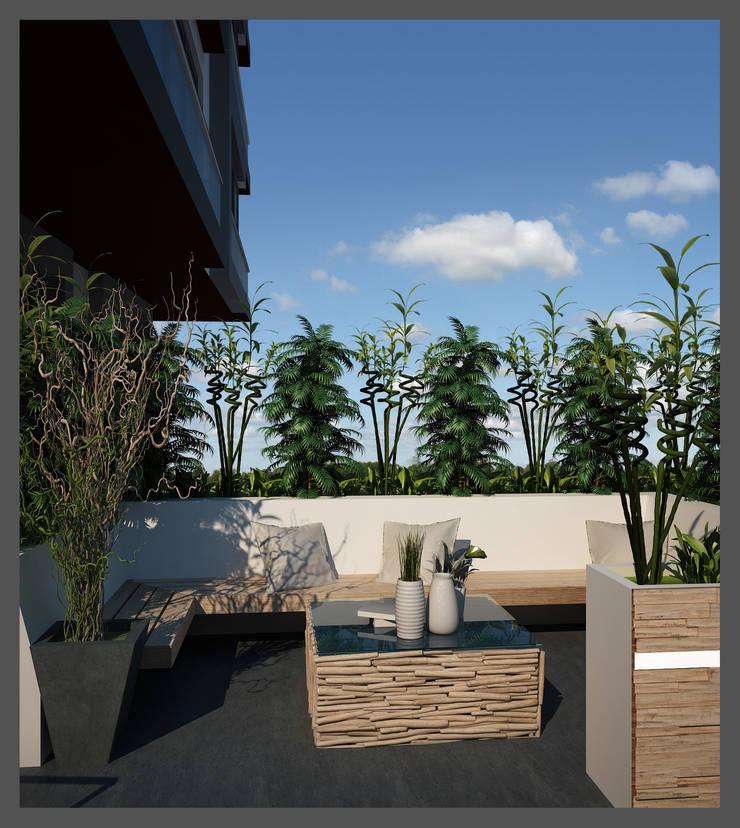 CANSEL BOZKURT  interior architect – MÜTOL HAUSE:  tarz Bahçe