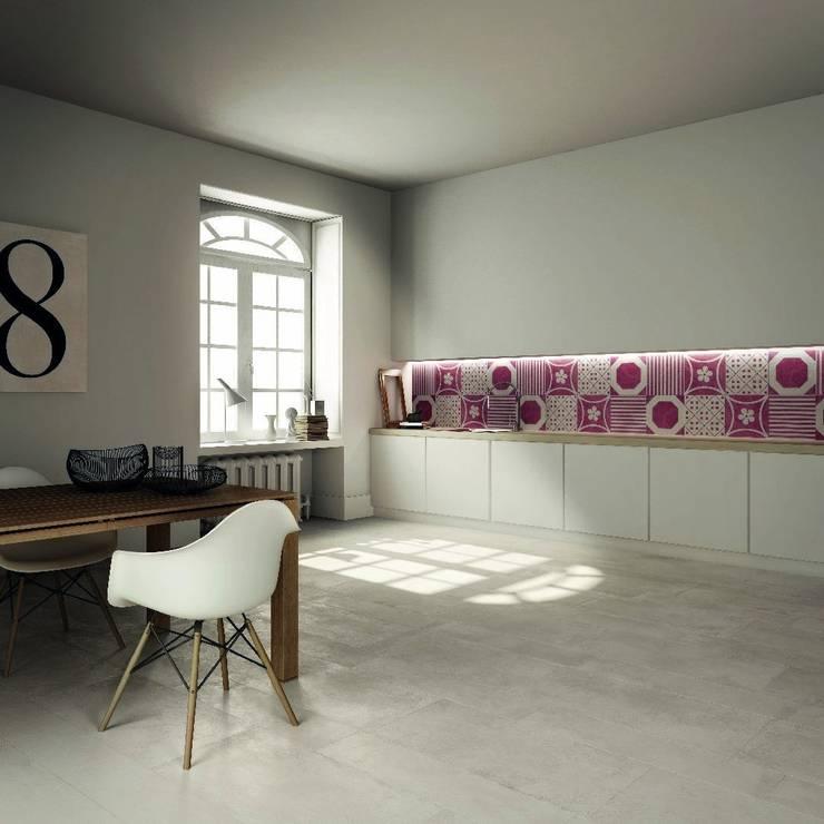 Combi - ABK: Cucina in stile  di Ceramiche Addeo