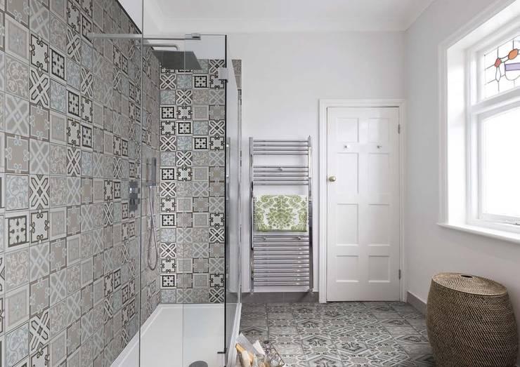 Projekty,  Łazienka zaprojektowane przez Ceramiche Addeo