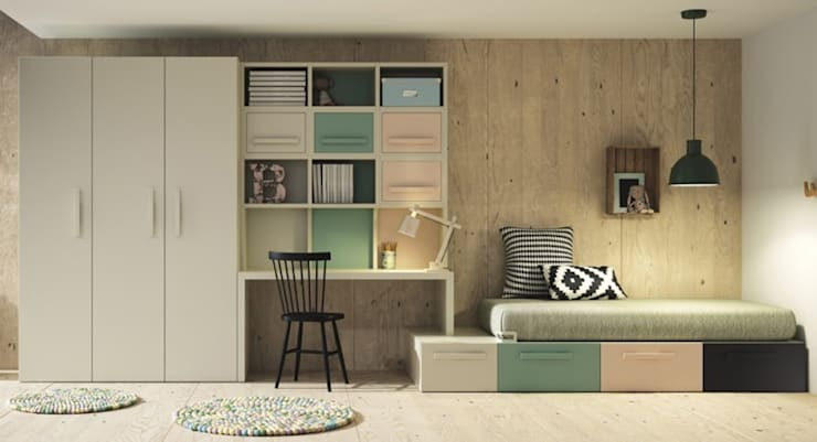 modern Nursery/kid's room by Yupih