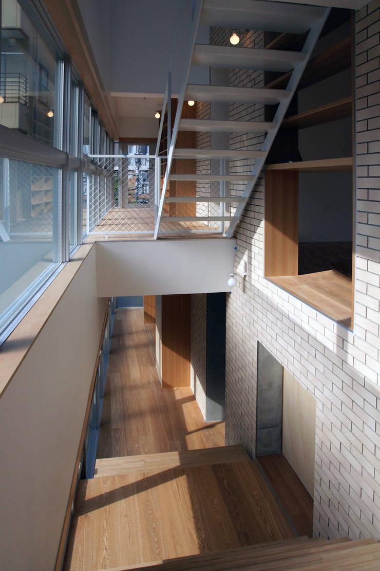 高津の動物病院 / 住宅: abanba inc.が手掛けた廊下 & 玄関です。