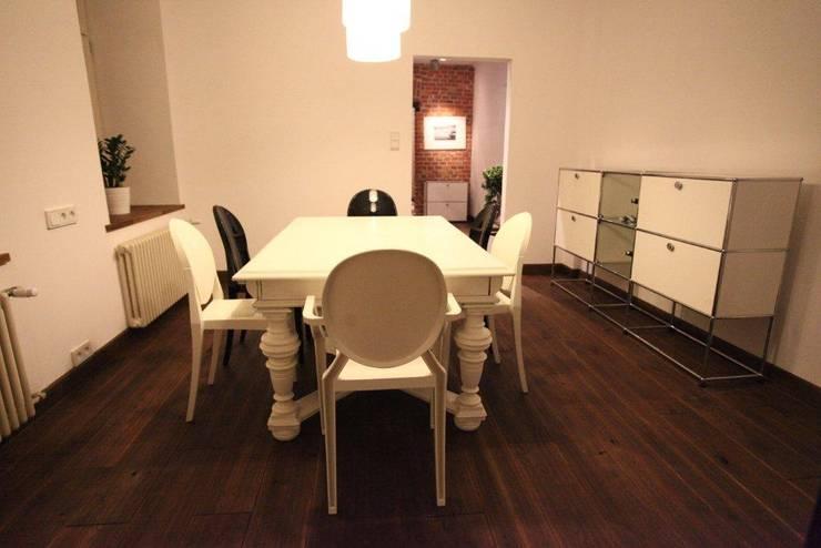 ksawery brick house: styl , w kategorii Jadalnia zaprojektowany przez REFORM Konrad Grodziński,