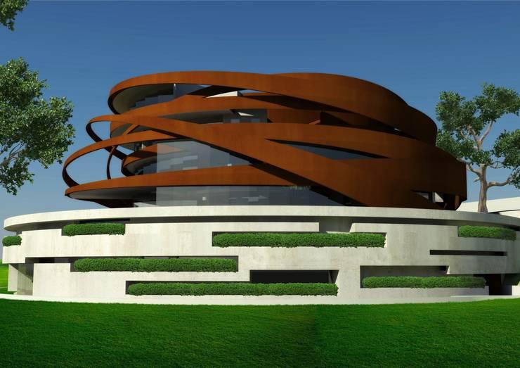 Casas de estilo  por Nico Van Der Meulen Architects