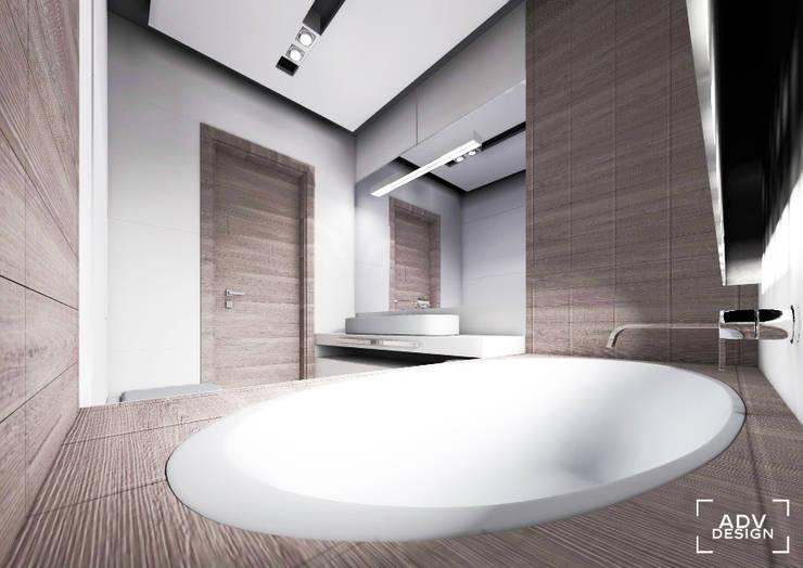 Przestrzeń prywatna - łazienka: styl , w kategorii Łazienka zaprojektowany przez ADV Design