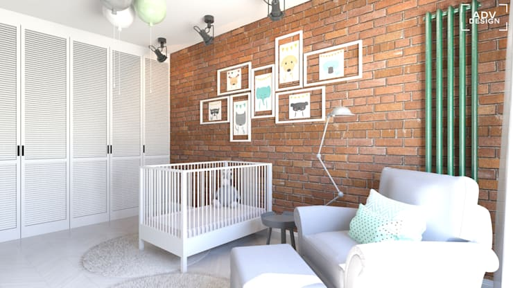 Część prywatna - sypialnia: styl , w kategorii Sypialnia zaprojektowany przez ADV Design
