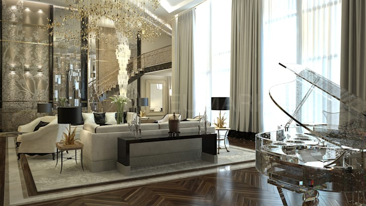 Living room by Anton Neumark, Eclectic