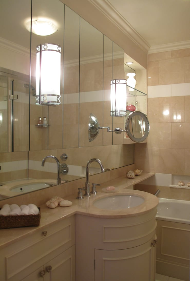 Section of Master Bathroom:  Bathroom by Meltons