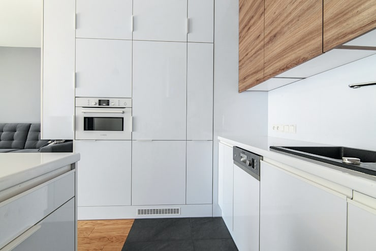 I_003: styl , w kategorii Kuchnia zaprojektowany przez SNCE Studio,Minimalistyczny