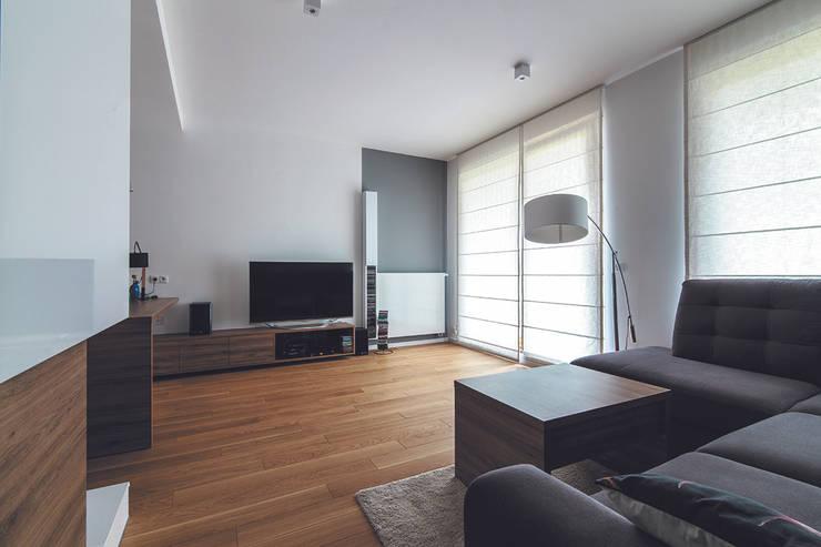 I_003: styl , w kategorii Salon zaprojektowany przez SNCE Studio,Minimalistyczny