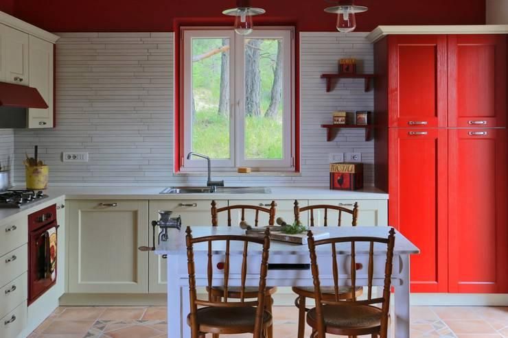 Cocinas de estilo  por AreaNova officina di architettura