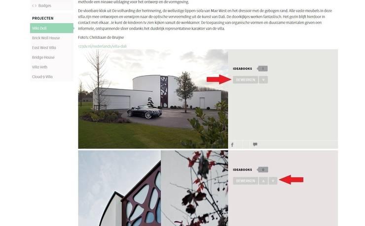 4. Hoe kan ik de informatie bij een afbeelding wijzigen?:   door homify help