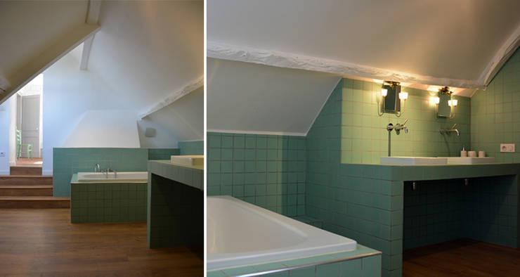 AGENCE APOLLINE TERRIERが手掛けた浴室