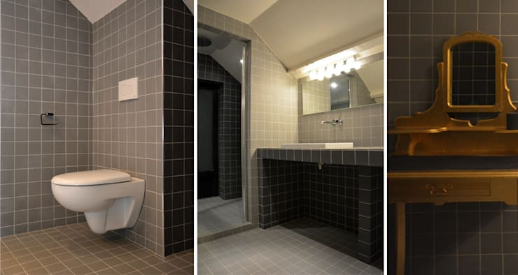 Bathroom by AGENCE APOLLINE TERRIER