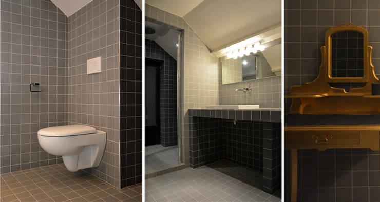 Projekty,  Łazienka zaprojektowane przez AGENCE APOLLINE TERRIER