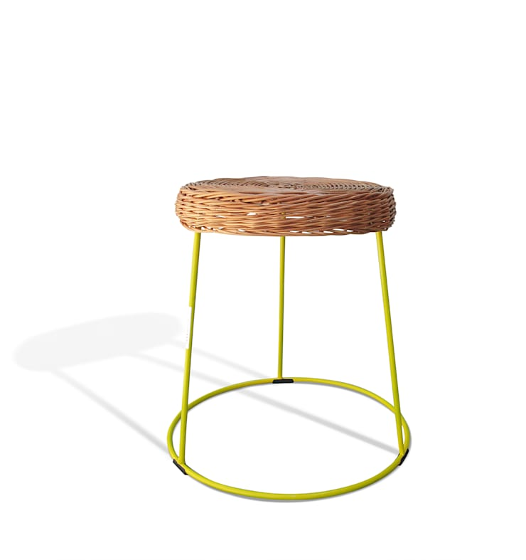 loft evo taboret 2014: styl , w kategorii Salon zaprojektowany przez Modestwork