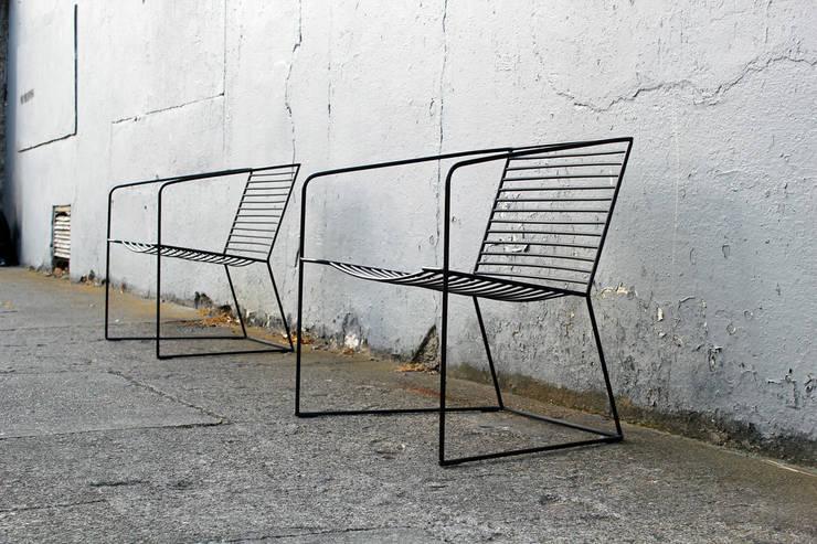 loft evo krzesło wypoczynkowe 2014: styl , w kategorii Ogród zaprojektowany przez Modestwork