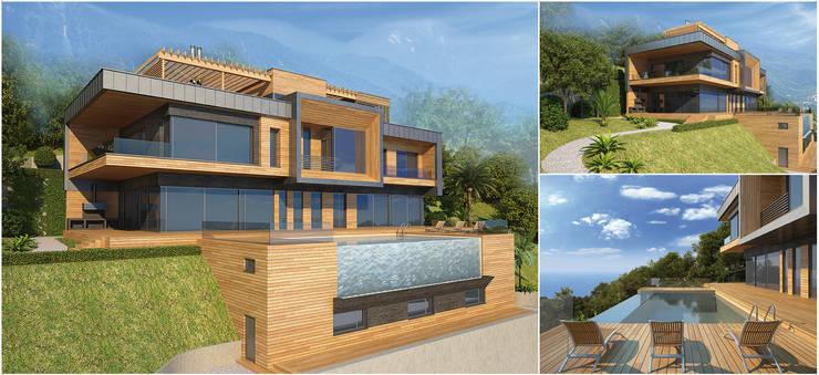 Дом на горе  в Дагомысе:  в . Автор – SAVAS