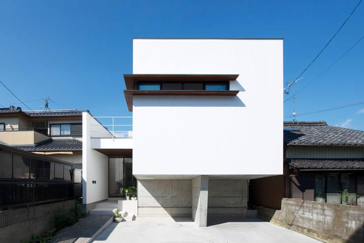 外観1: H建築スタジオが手掛けた家です。