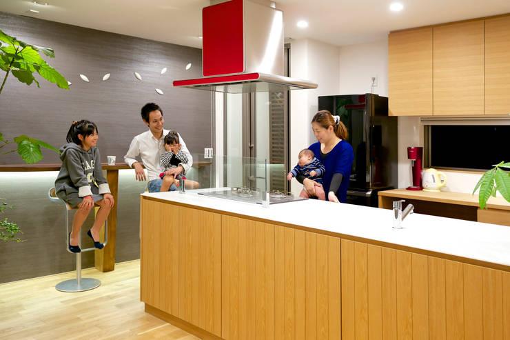 キッチン2: H建築スタジオが手掛けたキッチンです。