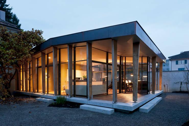 Haus S Winterthur:  Terrasse von Coon Architektur