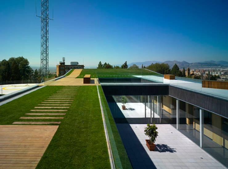 112 GRANADA: Edificios de oficinas de estilo  de estudio rosa palacios a r q u i t e c t o s