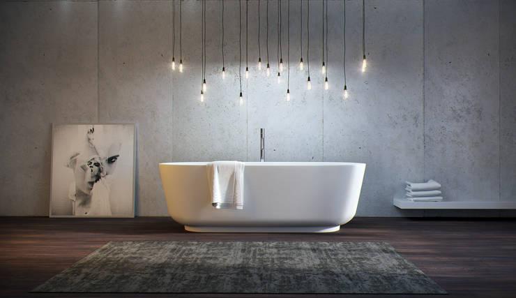 Projekty,  Łazienka zaprojektowane przez Vallone GmbH