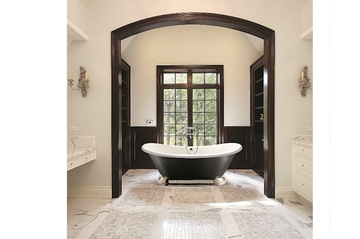 The Excelsior Bath: classic Bathroom by BC Designs