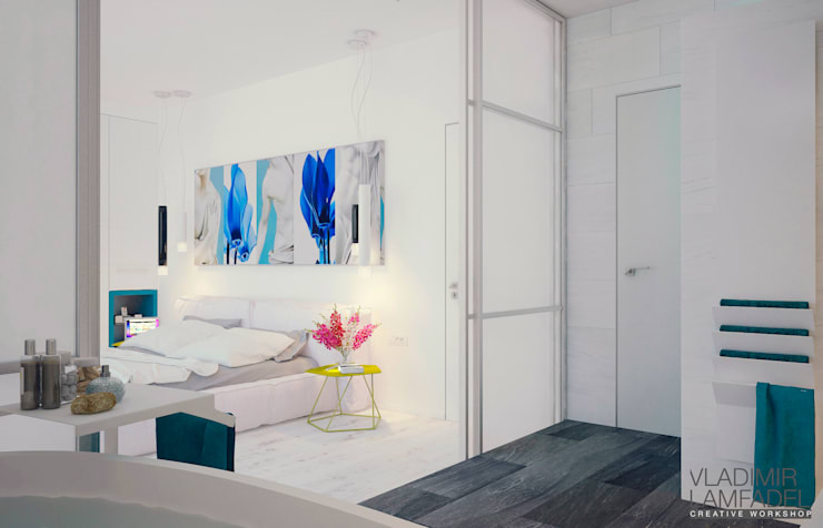 Villa Molveno: Спальни в . Автор – Laboratorio Creativo di Vladimir Lamfadel