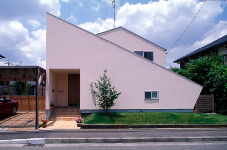 ファサード: ジェイ石田アソシエイツが手掛けた家です。,オリジナル