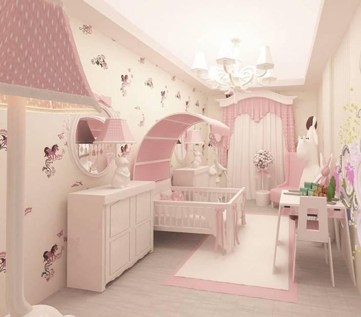 Детские комнаты в . Автор – Meral Akçay Konsept ve Mimarlık