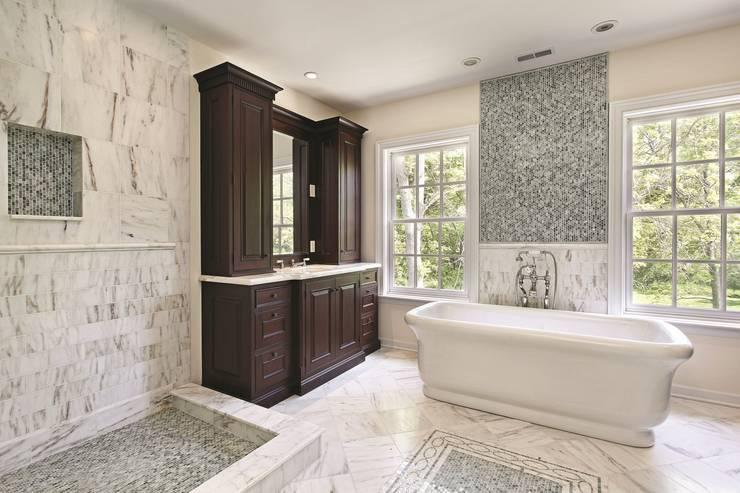 The Senator Bath:  Bathroom by BC Designs