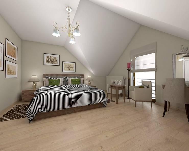 sypialnia: styl , w kategorii  zaprojektowany przez atoato,Klasyczny