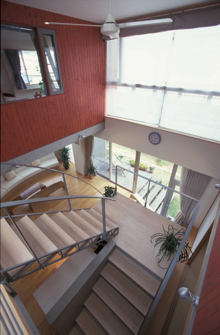 夏到来の家: ジェイ石田アソシエイツが手掛けた廊下 & 玄関です。