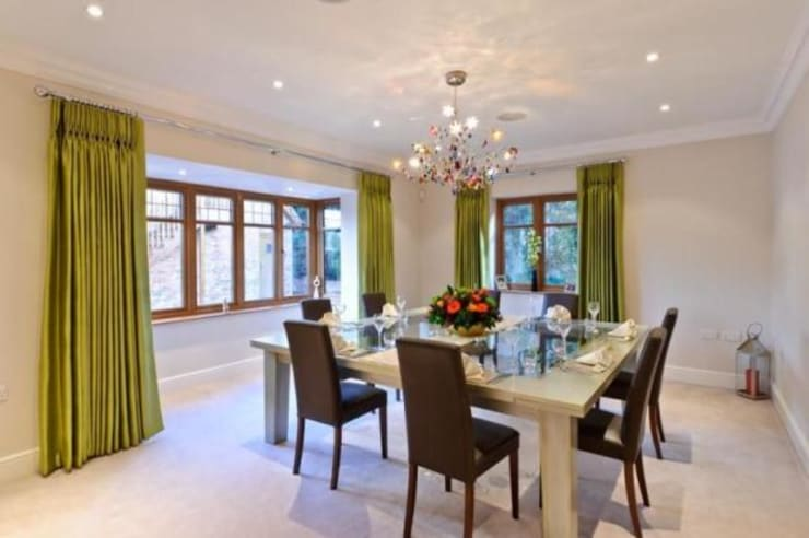 Dining room by Flairlight Designs Ltd