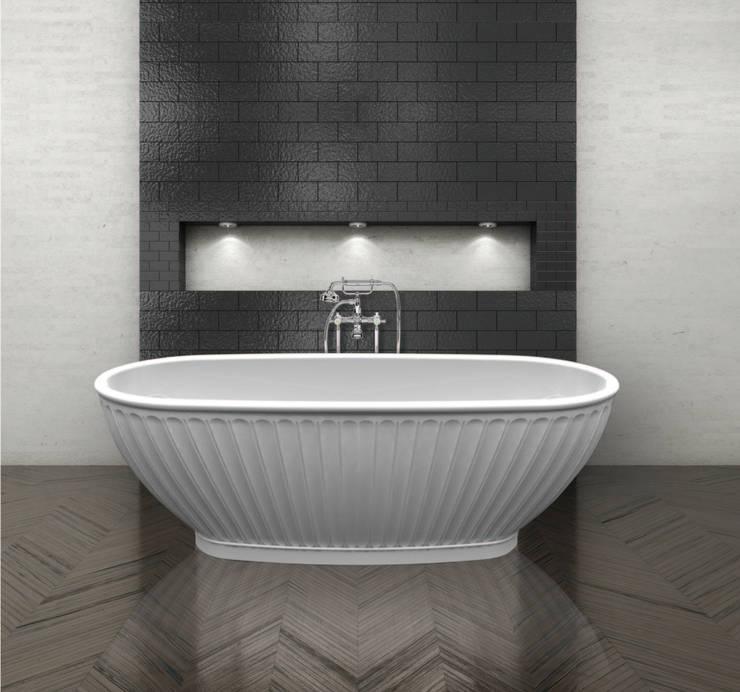 The Casini Bath:  Bathroom by BC Designs
