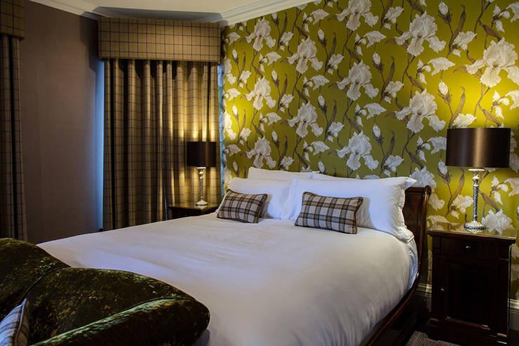 eclectic Bedroom تنفيذ Heathfield & Co