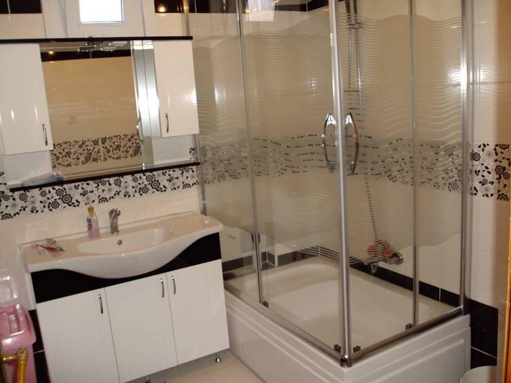 EREN YAPI MALZEMELERİ – MÜKEMMEL İŞLER: modern tarz Banyo