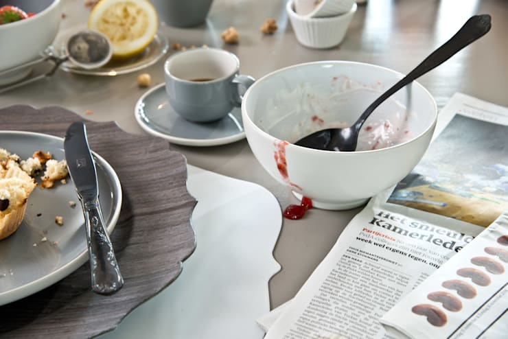 Ontbijtmoment in Basic stijl - na: modern  door Bitossi Home, Modern