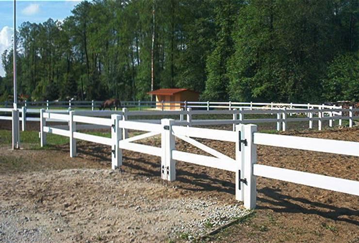 Brama farmerska 2: styl , w kategorii Ogród zaprojektowany przez Ogrodzenia PCV,